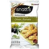 Snatt's Mediterráneas Pan con Sabor a Olivas y Romero - 110 g