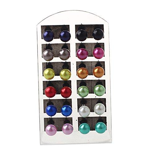 Perlas imitacion Pendientes Conjunto - SODIALR4~10mm
