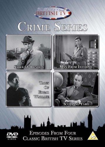 """Crime Series - Episodes From Four Classic British TV Series (inkl. Episode """"Death Trap"""")"""