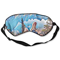 Comfortable Sleep Eyes Masks Free Time Printed Sleeping Mask For Travelling, Night Noon Nap, Mediation Or Yoga preisvergleich bei billige-tabletten.eu
