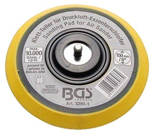 Bgs,-Assiette pour BGS 3290 Diamètre 150 mm Velcro 3290–1