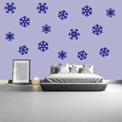 snowflake-set-di-natale-creativo-multipack-wall-sticker-stagionale-sticker-art-decor-disponibile-in-