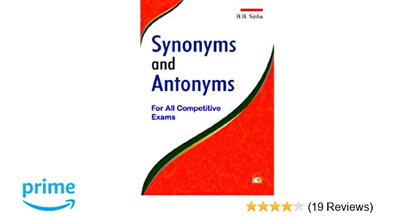 Buy Dictionary of Synonyms and Antonyms - For All