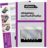 dipos I 2X Schutzfolie klar passend für Allview Viva H1002 LTE Folie Bildschirmschutzfolie