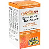 CurcuminRich, Double Strength Theracurmin, 60 Veggie Caps - Natural Factors
