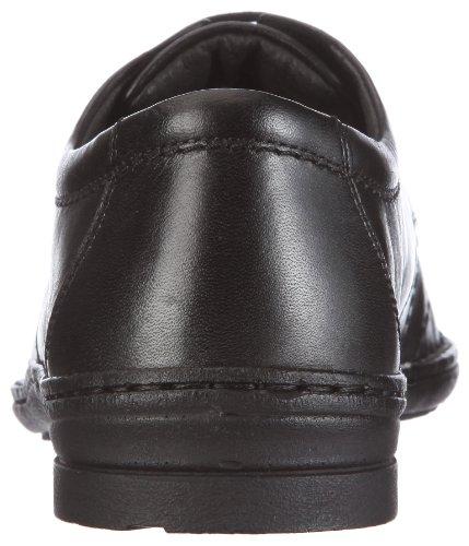 Josef Seibel Schuhfabrik GmbH Drake 01, Herren Derby Schnürhalbschuhe Schwarz (schwarz 600)