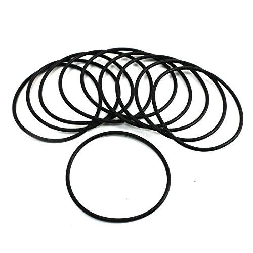sourcingmap-10-pz-62-millimetri-x-24-mm-di-anelli-di-tenuta-in-gomma-nera-o-anelli-radioshack
