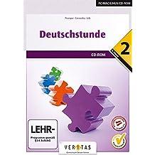 Deutschstunde NMS / HS / AHS 2. Klasse. Übungs-CD-ROM mit Lösungen