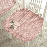 Materassino per sedia Cuscino per cuscini imbottiti Cuscino per sedie da pranzo Cuscino per sedie da ufficio ( Colore : Rosa )