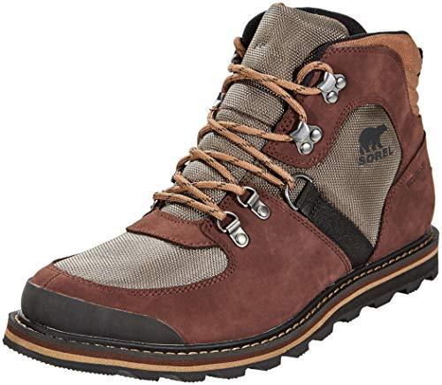 Sorel Herren Wasserdichter Stiefel, Madson Sport Hiker Waterproof, Braun (Mud), Größe: 42 Mid Cut Hiker Boot
