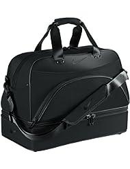 Nike Departure Boston Bag Bolsa de Viaje, Unisex adulto, Negro, Talla Única