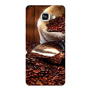 Enticing Coffee Beans Brown Back Case Cover for Galaxy A5 2016