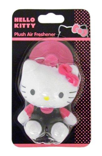 Hello Kitty 26207 Lufterfrischer aus Plüsch, 3D-Design (Hello Auto Kitty)