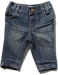 M&Co Baby Boy Dark Wash Elasticated Waist Comfort Casual Cotton Jeans
