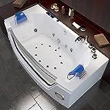 Whirlpool Badewanne Wanne Pool 2 Personen Heizung Luxus LED - 4