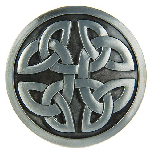 Preisvergleich Produktbild Keltischer Knoten Belt Buckle Gürtelschnalle Wappen