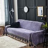 Plüsch Kristall-samt Sofa Überwürfe, Übergroßen 1 stück Vintage Wildleder Couch-abdeckungen Sofa Decke Couch-Shield Loveseat -C 200x350cm(79x138inch)