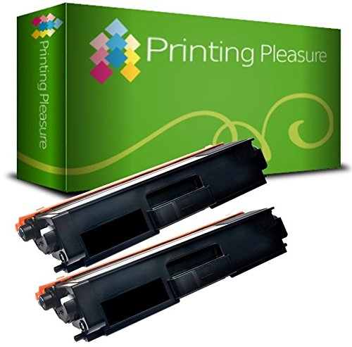 Preisvergleich Produktbild 2 Schwarz Toner kompatibel für Brother DCP-L8410 CDW CDN / HL-L8260 CDW, L8360 CDW / MFC-L8690 CDW, L8900 CDW / TN423 BK TN421 6500 Seiten