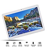 Android 8.0,6GB RAM, 64GB interner Speicher,10.1 Zoll Tablet PC( 2.8GHZ,Deca-Core, IPS HD 1920x1200,4G LTE Dual-SIM, WiFi, Bluetooth,GPS,OTG) Gold