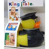 allkindathings AMZ _ policeman3262Kinder Gummi Farbe wechselnden Heat Sicherheit Fun Kid Bad Spielzeug Baby Duck Polizist - preisvergleich