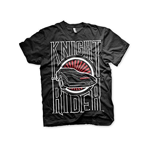 Knight Rider Kitt T-Shirt schwarz S