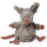 sigikid Beasts Kuscheltier für Erwachsene und Kinder, Maus, Müsli Maus, Grau, 38483