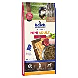 bosch Hundefutter Mini Adult Lamm und Reis, 1er Pack (1 x 15 kg)