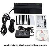 deftun msr6053Track HICO avec lecteur de carte Writer à rayures Encodeur magnétique Compatible avec msr206msr606