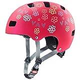 Uvex Fahrradhelme für Kinder, Rot, 55-58