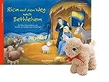 Rica auf dem Weg nach Bethlehem - mit Stoffschaf: Ein Folien-Adventskalender zum Vorlesen und Gestalten eines Fensterbildes - Katharina Wilhelm