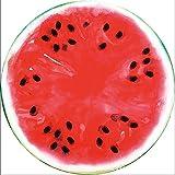 Lanlan Outdoor Sommer Mikrofaser rund Strandtuch Stil Lebensmittel Fruit Strand Matte Decke Bad Handtücher, style:8 watermelon 2