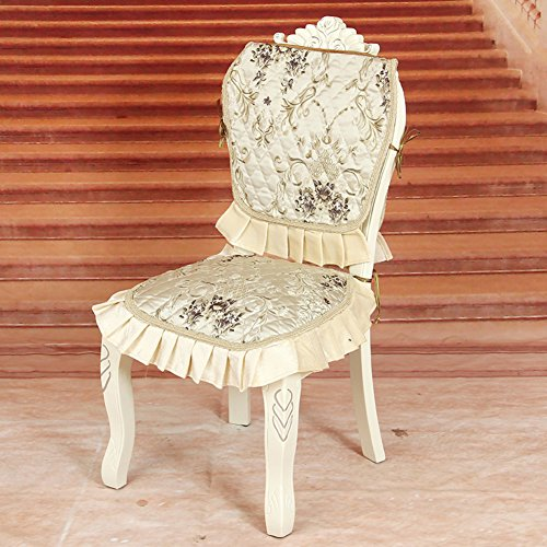 Stile europeo lusso coprisedili/ four seasons tessuto high chair cover-B