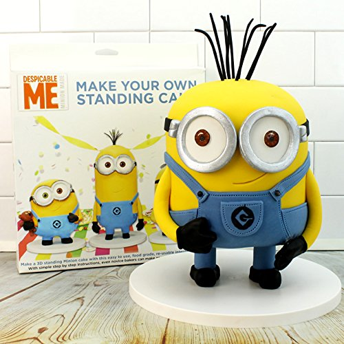 Make Your Own Standing Minion Cake Frame Kit (Inc Step-by-Step ...