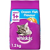 Whiskas Adult Cat Food, Ocean Fish, 1. 2 Kg K