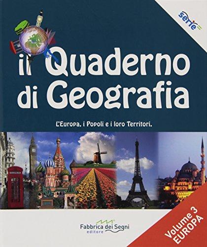 Il quaderno di geografia. Per la Scuola media: 3