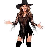 Vampir Kostüm Valeska Damen Hexenkostüm Kleid Halloween Fasching Party /%SALE/%