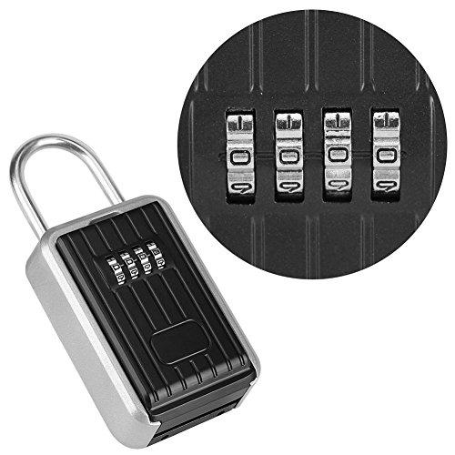 Schlüsseltresor ,Schlüsseltresor mit Zahlenschloss,Schlüsselschränke Schlüsseltresor Schlüsselsafe Mit 4-stelligem Zahlencode zur Wandmontage ,nicht korrosiv und witterungsbeständig,hohe Sicherheit