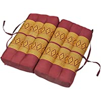 Faltbares Thai Kapok Sitzkissen Kissen Auflage 40x40 Meditationskissen Yoga Sitz
