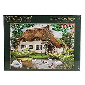 Falcon de Luxe - Swan Cottage Puzzle (500 Pieces)