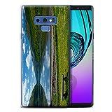 Stuff4® Custodia/Cover/Caso/Cassa Gel/TPU/Prottetiva stampata con il disegno Paesaggi Scozzesi per Samsung Galaxy Note 9/N960 - Loch/Da Banco