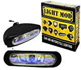 #10: 2Pc. LightMod 55W Bar Auxillary Lamps FogLamp Halogen Light for ALL Car and Bikes