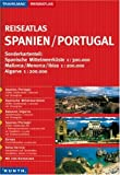 Reiseatlas : Spanien / Portugal 1:300.000 (+Europa) - -