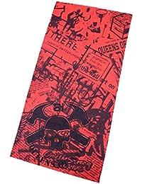 Pañuelo bandana multiuso Calavera Bandana multifunción, elástica, perfecta como braga para el cuello o