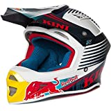 KINI RED BULL COMPETITION Motocross Helm - navy weiss rot