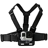 #4: yantralay GoPro Adjustable Chest Strap Mount Body Belt Harness for Action Cameras (Black)