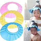 #9: Romano Safe Shampoo Shower Bathing Protect Soft Cap Hat for Baby Children Kids