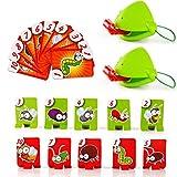 yuyoug Funny Take Card-Eat Pest Catch Bugs Spiel Desktop Spiele Board Games Kinder Erwachsene Tisch interaktiven Spielzeug für Kinder