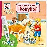 BOOKii® WAS IST WAS Kindergarten Komm mit auf den Ponyhof!: BOOKii® Der Hörstift mit Aufnahmefunktion und BOOKii® WAS IST WAS Kindergarten Komm mit auf den Ponyhof!