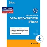 #9: Stellar Phoenix Data Recovery for iPhone Windows - 1 PC, 1 Year (Email Delivery in 2 Hours - No CD)