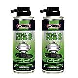 2 x Wynns Professional Formula Petrol EGR 3 Air Intake, Inlet Valve Cleaner 200ml